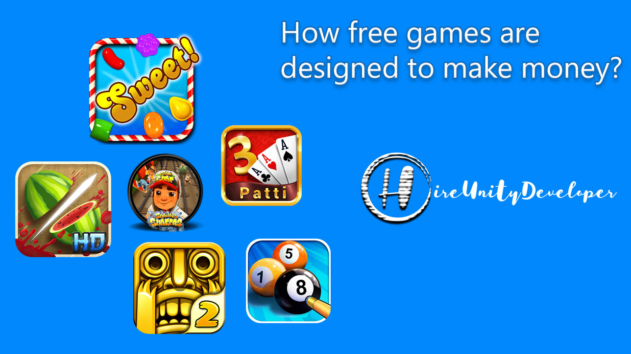 How free games are designed to make money
